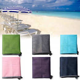 Wholesale Pad Outdoor - Sand Free Magic Beach Mat Portable Grenadine PVC Camping Mats Outdoor Picnic Camping Mattress Summer Sandy Beach Pads 200*145CM
