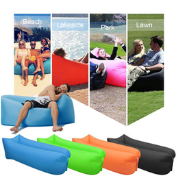 Wholesale Bag For Portable - Inflatable Lounger Sofa Sleeping Bag,Compression Air Beds,Portable Chair,Air Mattresses Ideal For Camping, Beach, Fishing, Parties, Camping