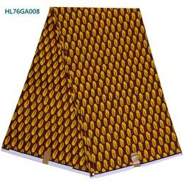 Wholesale Veritable Wax Block Prints - wholesale and retail Top quality veritable block print wax fabric for Garment Ankara wax with beautiful pattern HL76GA008