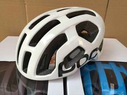 Wholesale Helmet Mountain Bicycle - Cycling POCs Helmet High Quality Mountain Road Race Cycling mtb Road Race Bike whisper Helmet White Bicycle Helmet Sports M 54-60cm With Box