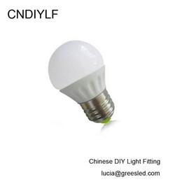 Wholesale Ceramics Dc - Wholesale- Ceramic 3W E27 12 Volt LED Bulb AC DC 12V 3000K 6000K Fast Free Shipping