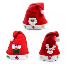 Wholesale Santa Claus Adult - New Arrival Christmas Decor Santa Decoration hats High-grade Christmas hat Santa Claus hat Cute adults Christmas Cosplay Hats 60 p l