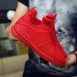 Wholesale Hip Hop High Top Sneakers - 2016 brand men Fashion Mens Shoes High-top mesh shoes sports Men Sneakers Casual Shoes zapatillas hombre Breathable sneakers hip hop