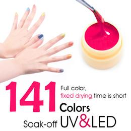 Wholesale Paint Products - Wholesale 25pcs CANNI Nail Art Products LED UV Nail Art Gel Paint UV Gel Kit 25 141 Color