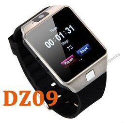 Wholesale Iwatch Wrist - DZ09 Smartwatch GT08 U8 A1 Bluetooth Wristbrand Android i Phone Smart SIM Intelligent Mobile Phone Sleep State Smartwatch Newest iwatch