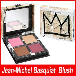 Wholesale Boxed Blush - Hot Brand NEW in BOX Jean-Michel Basquiat Gallery Blush Palette Limited Edition Gallery Blush Palette Blush Bronzer Highlight