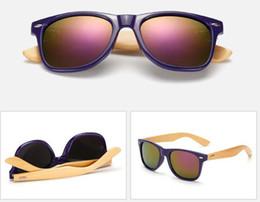 Wholesale Original Bamboo - Bamboo Foot Sunglasses Men Women Wooden Sunglasses Brand Designer Original Wood Sun Glasses