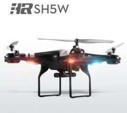 Wholesale Top Helicopter - Original TOP Selling SH5W 2.4GHz 6Axis WiFi FPV RC Quadcopter Drone w  2.0MP HD Camera helicopters RTF Mini Toy High Quality
