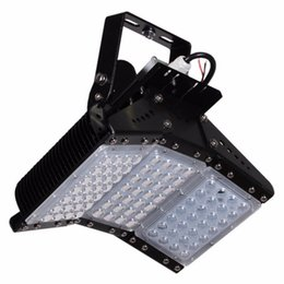 Wholesale Water Proof Led Lighting - Finned radiator 160W modules LED flood light SMD3030 floodlight Tunnel lights IP65 water proof high-pole lamps AC85-265V 3years warranty