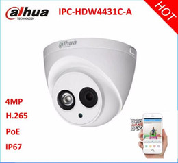 Wholesale Ipc Securities - Dahua H.265 IPC-HDW4431C-A HD 4MP IR 30m PoE Built-in Mic IR Dome Network Security IP Camera Network IP Camera