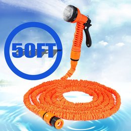 Wholesale Expandable Garden 75 - pipe automatic welding machine 100 75 50 25FT Expandable Magic Flexible Hose Water for Garden Car Pipe Plastic Hoses to Watering with