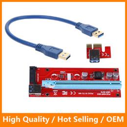 Кабель для передачи данных с карты онлайн-PCIe PCI-E PCI Express Riser Card 1x до 16x USB 3.0 кабель для передачи данных SATA до 4pin IDE Molex источник питания 60см