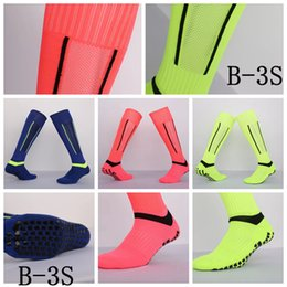 Wholesale Socks Slips - B-3S Multi-slip stockings Long Adult Soccer Socks Thick non slip sports football absorbent sweat towel training breathable high quality