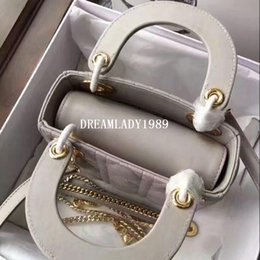 Wholesale Genuine Leather Designer Hand Bags - Mini Gold Chain Shoulder Bags Genuine Leather Women Handbags Fashion Designer Hand Tote Crossbody Bags