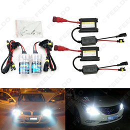 Wholesale Hidden Turn Light - Xenon HID Kit H1 H3 H7 H8 H10 H11 9005 9006 DC 12V 35W Xenon Bulb Lamp Digital Ballast Car Headlight #4470