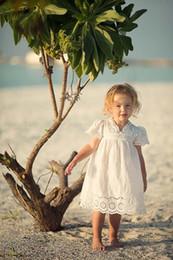 37545359d Vestido de niña de encaje de algodón niños 2017 verano nuevo bordado niños  ropa de encaje blanco princesa coreana lindo vestido delgado