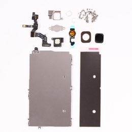 Wholesale Iphone Complete Set - Perfectly Fit For iphone 5g LCD Display Completed Set Repair Parts Replacement With Home Button & Screws Free Shipping