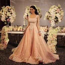 dress bridal shower coupons wedding dresses new coming custom made square neckline full sleeve a