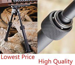Wholesale Wholesale Bipod - SINAIRSOFT BT10-LW17 V8 Aluminum Black Atlas 360 Adjustable Precision Bipod ADM QD Mount For Hunting Mount airsoft rifle shotgun Accessories