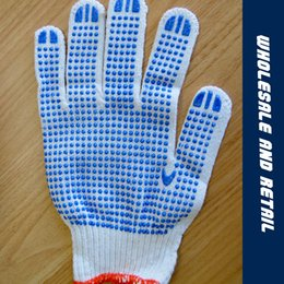 Wholesale Sell Beads Wholesale - 2017 Manufacturers selling hot cotton gauze warm plastic gloves pvc point beads point plastic dispensing gloves
