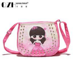 Wholesale Phone Accessories Children - Wholesale- 2016 Candy Color Fashion Bag Accessories Kids chic Handbags Children cute girl diagonal package