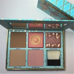 Wholesale Long B - Newest New B F Cosmetics CHEEK PARADE Limited Edition Palette Highlighter by DHL