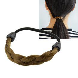 Wholesale Hair Plaited Elastic - New Arrival Fashion Plaits Elastic Hair Accessories For Women