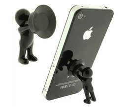 Wholesale Cell Phone Plunger Stand - Silicone Mini Hercules Villain 3D Man Mobile Cell Phone Holder Stand Supporter for Smartphone Plunger Sucker iPhone Samsung HTC Lenovo