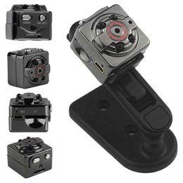 Wholesale Wholesale Small Video Camera - SQ8 Full HD 1080P 720P Small Mini Hidden SPY Camera Infrared Night Vision Sport DV Voice Video Recorder Camcorder Best Quality Cameras