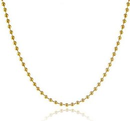 Wholesale Singapore Lights - 24 k yellow gold plating Ms classic light gold pearl necklace Long do not fade