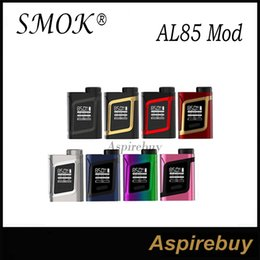 Wholesale SMOK AL85 Mod W AL85 Box Mod W Output Combines Cloud Beast Tank Top Battery Slot Compact Size Mini Version of Alien Mod Original