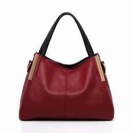 Wholesale Celebrity Hobo - Wholesale- Luxury Designer Purses New 2017 Fashion Split Leather Handbags Shoulder Messenger High-grade Women Bags Celebrity Totes Hobos