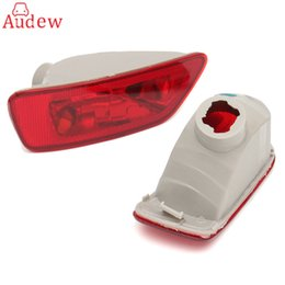 Wholesale Rear Light Assembly - 2Pcs Rear Tail Fog Light Lamp Cover Light Lens For Jeep Compass Grand Cherokee 2011-2016