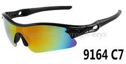 Wholesale Rainbow Sunglasses - 2016 New Arrival Classic style Men's Sunglasses Black Color Frame Rainbow Lens Driver Sunglass Windproof SUN GLASS Sport SUN Glasses