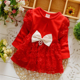 Wholesale Korean Fashion Clothes For Kids - 2017 Spring Autumn New fashion Korean style Girls children Clothes bow-knot baby Jackets outerwear For 1-4 years old kids