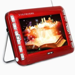 Wholesale Dvd Evd Player - Wholesale- 3rd generation SAST K962 mobile DVD11 inch HD DVD player to watch a movie machine, a TV with a portable evd player,9-inch screen