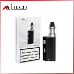 Wholesale Mod Cigar - Mjtech OLAX X9 kit 2017 New Arrival Ecigarette Vape Cigar Mod 80W Variable Voltage 18500 battery 1500mah Factory Wholesale free shipping DHL