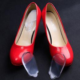 Wholesale Orthopedic Silicone Insole - 1Pair Silicone Gel Orthopedic Shoe Pad Women's High Heel Cushion Half Insole Shoe Pad Foot Care Pads Shoe Pedicure Tools Massage