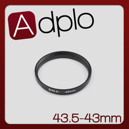 Wholesale Step Down Rings - Wholesale- 43.5-43mm 43.5MM to 43MM Step Down Ring Lens Filter Adapter Ring Aluminum