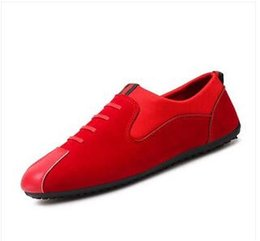 Wholesale Period Shoes - spring and autumn period and new European Classic old Beijing cloth shoes leisure lazy men's shoes Black and red size 39 to 44 free shipping