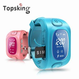 Wholesale Gprs Watches - Wholesale- Y3 Smart Kids GPS Watch with GPS GSM Wifi Triple Positioning GPRS Real-time Monitoring two way Call SOS for child Children OLED