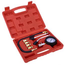 Wholesale Engine Meters - Petrol Gas Engine Cylinder Compressor Gauge Meter Test Pressure Compression Tester Leakage Diagnostic Tester