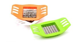 Wholesale Chip Slicer Machine - New Stainless Steel potato chips cutter Slicer machines Vertical French fries Strips cutters Kitchen Gadgets tools wn030