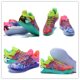 Wholesale Rubber Duck Shoes Sale - 2017 Cheap Sale kb12 Elite Men's Basketball Shoes for Top quality KB 12 Weaving Sports Training Sneakers Mandarin duck shoes Size 7-12