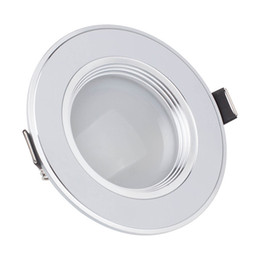 Dimmable LED Ceiling Light 3W 5W 7W 9W 12W Warm White Cold White Recessed LED Lamp Spot Light AC220V AC110V da