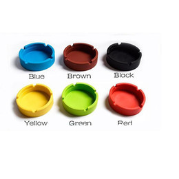 Wholesale Gadgets Free - Wholesale-- square Silicone Ashtray for Home novelty Crafts Pocket Ring Ashtrays for Cigarettes cool Gadgets free shipping