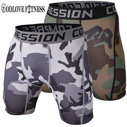 Wholesale Men S Denim Pants Wholesale - Wholesale-New 2016 Mens Tight Elastic Compression Shorts Fitness Brand Clothing Wicking Bermuda Short Pants Homme Men Bodybuilding Shorts