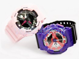 Wholesale Auto Moving - 2017 New colors top quality auto light relogio fashion watch 110 men's sports watch,all small dials move,no box