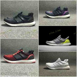 Wholesale White Lace Stockings - check stock before order 2017 new ultra boost 2.0 running shoes triple white black ultra boost white primeknit hypebeast sport running shoes