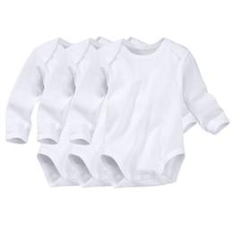 Mädchen kleidet größe 7t online-Baby-Jungen-Mädchen-Spielanzug-Herbst-Bodysuit-neugeborene lange Hülsen-Spielanzug Onesies Baumwollkleidungs-Satz-Dreieck Bodysuit alle Größe bereit zu versenden